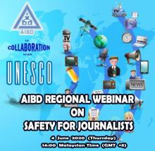 AIBD Regional webinar on Safety for Journalists